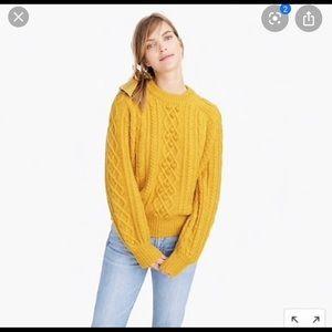 J Crew Demylee Balloon Sleeve Sweater Medium
